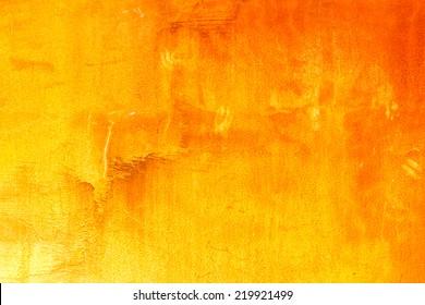 Orange abstract texture background.