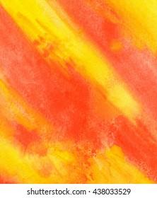 Orange Abstract watercolor grange texture background. Hand paint texture, watercolor textured backdrop.