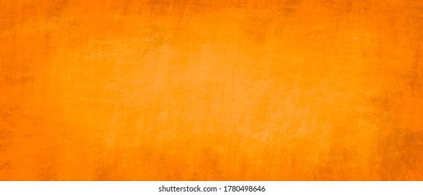 Orangefarbene Hintergrundtextur mit heller Kupfer-Farbe und Vintage-strukturiertem Design, elegantes, reichhaltiges rotes Papier oder antikes Rost-Rost-Grunge aus Metall in luxuriöser Hintergrund-Vorlage, Herbst oder Halloween