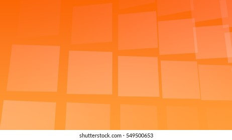 Orange background with tiles, useful for many applications (3d rendering)