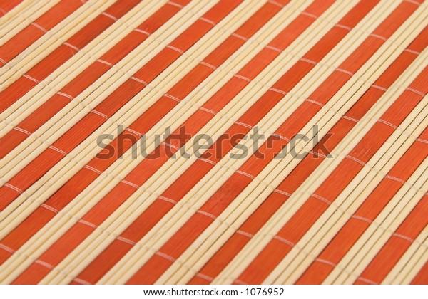 orange Bamboo texture detail