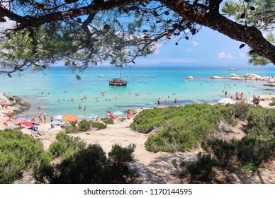 Orange beach, Sithonia - Greece
