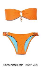 Orange Bikini Swimsuit