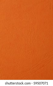 orange blank sheet of paper