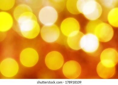 Orange blurred background, Defocused abstract background.