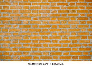 Orange Brick abstract texture background