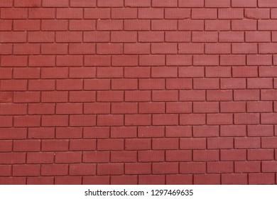 Orange brick wall blackground