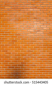 Orange Brick wall , Pattern and Background