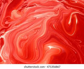 Orange bright fire red marble texture photo design background