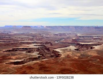 Orange Cliff Overlook - Canyonlands National Park, Utah