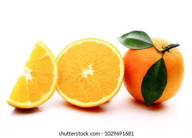 Orange closeup image