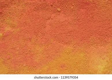orange color artist pastel powder background texture