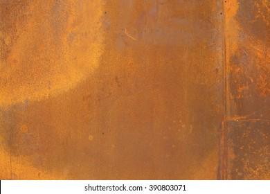 orange color Corten steel texture and background
