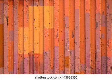 Orange container background , Grunge background