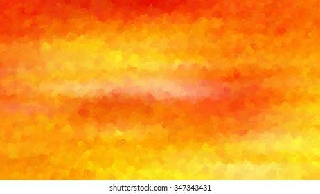 Orange creative abstract grunge background