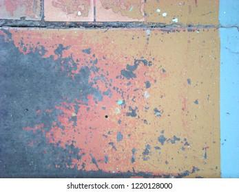 Orange dalle texture