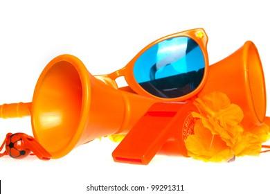 Orange fan stuff for the europian football championship
