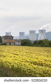 Orange, France. September 15, 2010. nuclear power plant