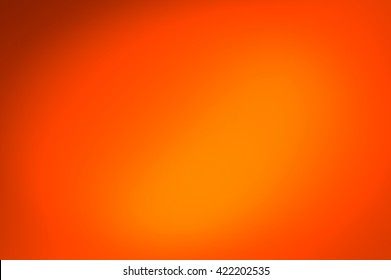 Orange gradient background abstract.