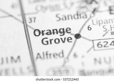 Orange Grove. Texas. USA