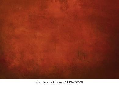 orange grungy painting background