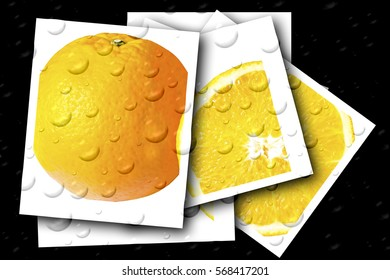 Orange, Healthy food, background, natural