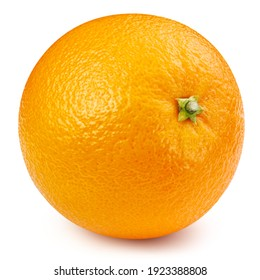 Orange. Orange isolated on white background. Orange macro