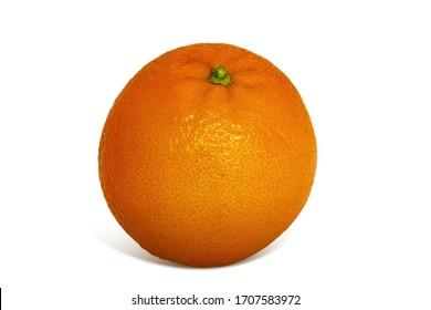 Orange isolated in white background
