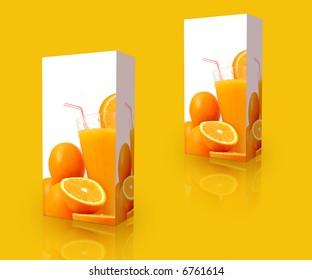 orange juice boxes