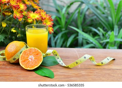 orange juice drink for loss weight