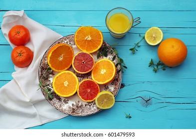 Orange & Lemon for Your Health