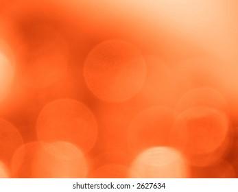 Orange light circles uneven background (six colors collection)