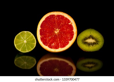 Orange, Lime & Kiwi