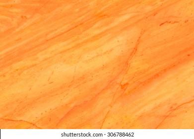 Orange marble texture background.