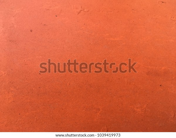 Orange metal plate background for texture abstract