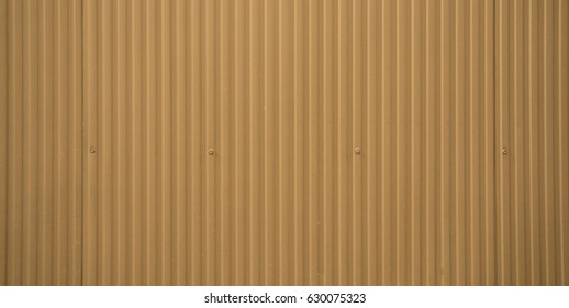 Orange metal stripe background with rivets