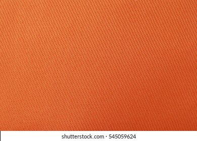 Orange nylon fabric texture background.