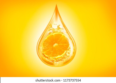 orange oil, orange juice