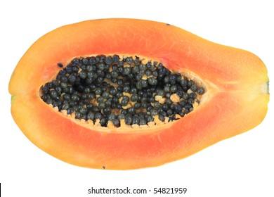 Orange Papaya fruit.