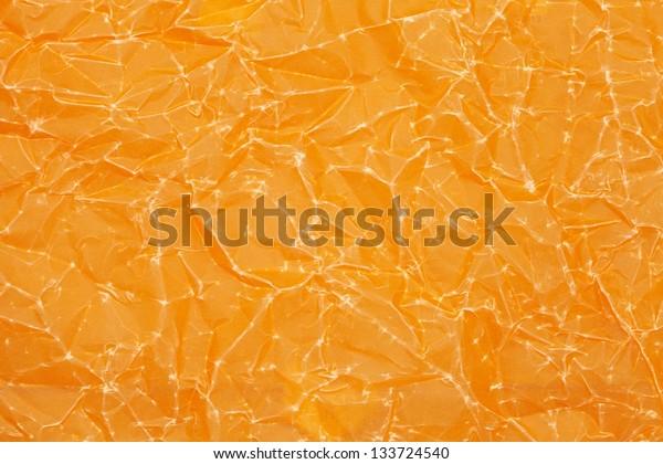 Orange paper texture or background