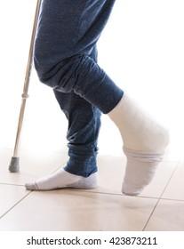 Foot Cast Images, Stock Photos & Vectors | Shutterstock
