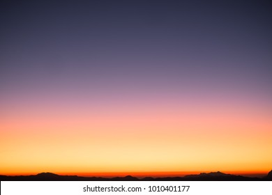 orange to purple gradient sky