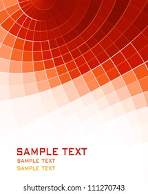 orange red abstract background
