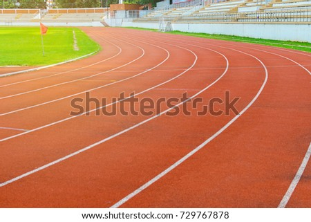 orange running track background use success stock photo edit now