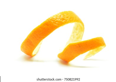 Orange skin isolated. Beauty health skin concept