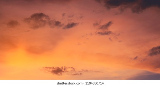 Orange sky Cloud Take a photo at home. evening date 4/6/2061