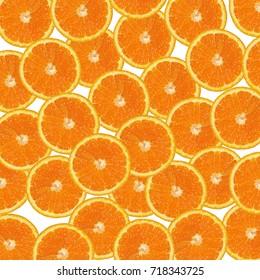 orange slices background, orange slices on white background