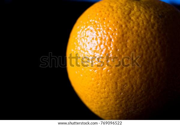 An Orange in the Spotlight
