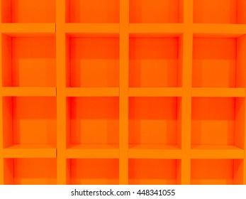 Orange square block background