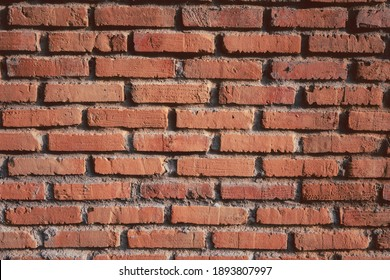 orange square brick wall abstract wallpaper background